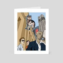 Wolf of Wall st. - Art Card by will hunt