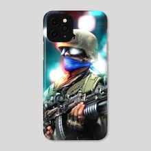 Peace Soldier - Phone Case by Mell Bustamante