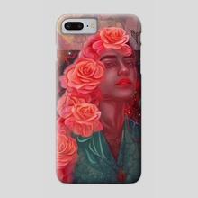 Flower spell - Phone Case by Damir Martic