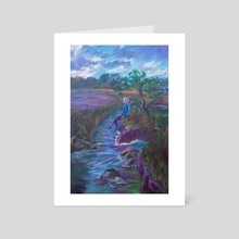 By the river - Art Card by Jarred Davis