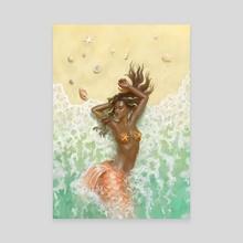 Beached - Canvas by Yasu Matsuoka