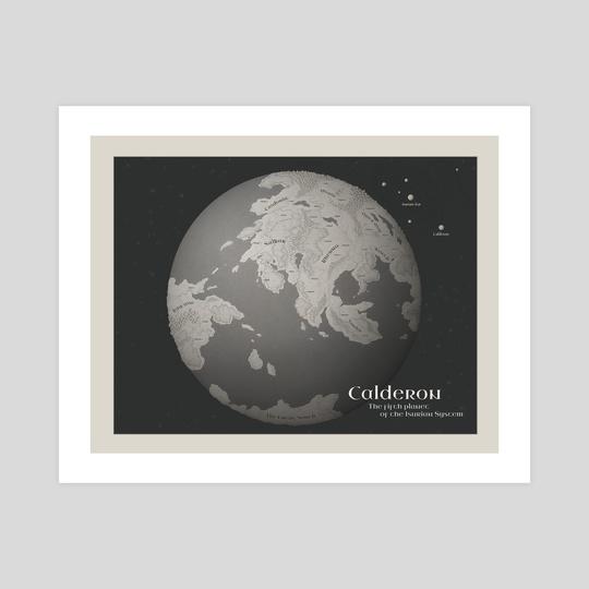 Calderon Planet by Rafał Zatwarnicki