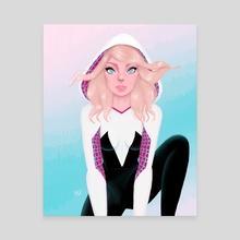 Spider Gwen - Canvas by Marisa