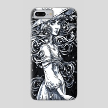 Night Witch - Phone Case by Maria Dimova