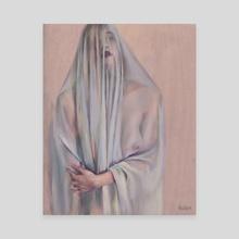 I'll Haunt You - Canvas by Sara Wilson