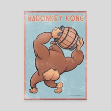 Badonkey Kong - Canvas by Greg Marathas