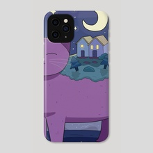 Nostalgia And Moving On - Phone Case by Purrple Cat