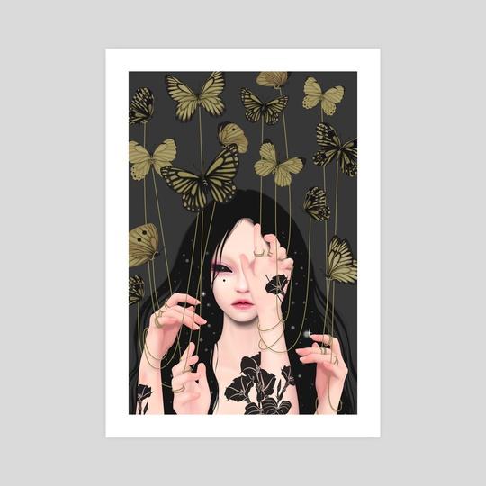 Golden Thread (No.1) by Anne Martwijit