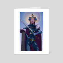 Queen of Swords - Art Card by Laura Elizabeth