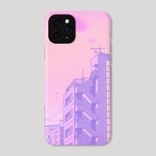 Tokyo Valentine - Phone Case by Elora Pautrat