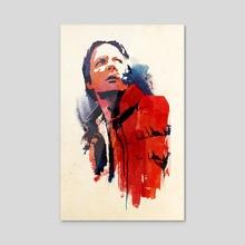 Marty Mcfly - Acrylic by Robert Farkas