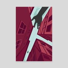 Attack on Titan - Canvas by Alex Uploads