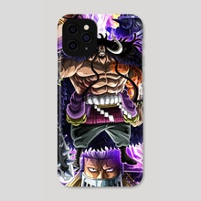 Kaido , king , queen , Jack - one piece - Phone Case by One piece World