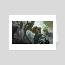 Out of the Abyss - Art Card by Tyler Jacobson