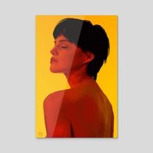 Model Lighting Study - Acrylic by Max Romero