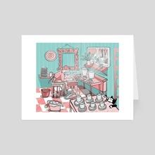 The potter studio - Art Card by Johanne Weilbrenner