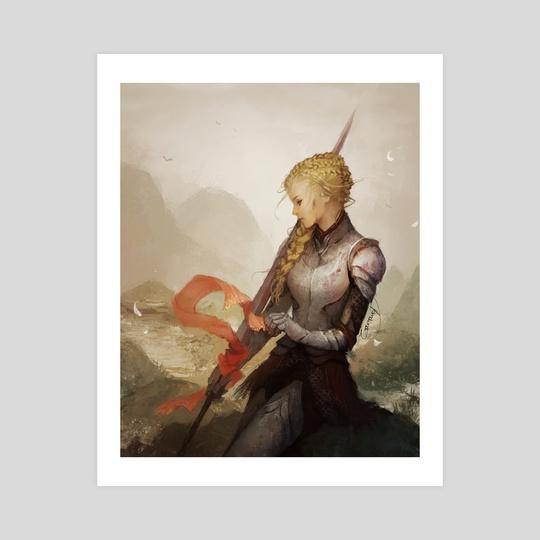 Lady Knight by Janaina Medeiros