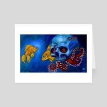 Hermit Octopus - Art Card by Randy Debono