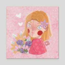 Valentine Special - Acrylic by Julia Turano