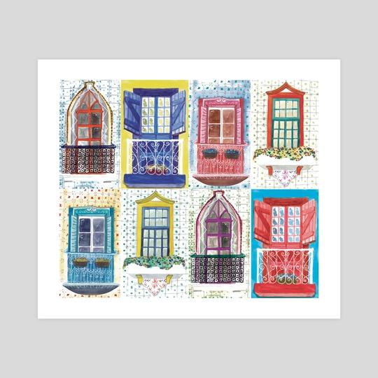 city windows by Catarina Ferreira