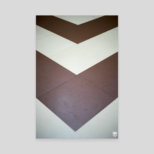 Triangles or Lines? - Canvas by Parag Phadnis