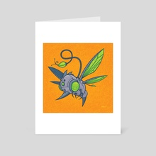HUMM-BUZZ - Art Card by John Schwegel