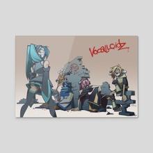 (Vocaloid) Vocalloidz - Acrylic by Jayd Ait-Kaci