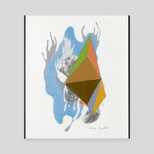 Crystallography #2. - Canvas by Tedd Anderson