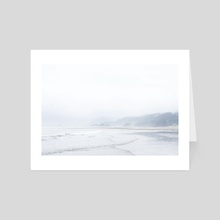 White Space - Art Card by Justy Marcy