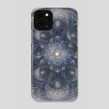 The Eye of Universe. Spiritual art - Phone Case by Bruce Rolff