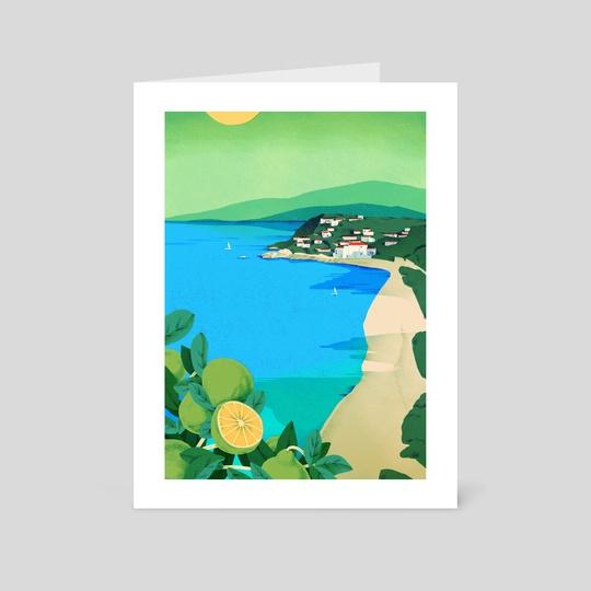 Calabria - The Mediterranean by Jeannie Phan
