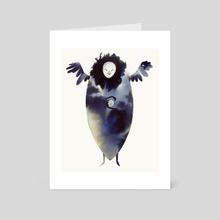 Moon Spirit - Art Card by Faryn Hughes