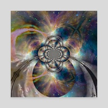Eternal Space - Canvas by Bruce Rolff