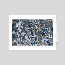 Abstract Climate - Art Card by Andi GreyScale