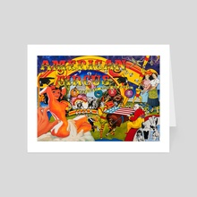 American Circus - Art Card by Nathaniel Allen