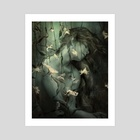 A Sleep - Art Print by Janusz Gierat