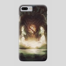 Forest Spirit - Phone Case by Damien Ajoku
