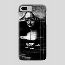 Mona Lisa Glitch - Phone Case by Nicebleed