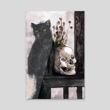 Prisoner Of Night - Acrylic by Mary Black