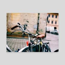 Bike - Canvas by Nazar Hrabovyi