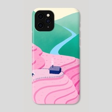 Hello Hanoi - Phone Case by Lisa Nooin