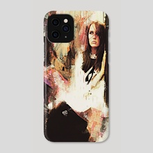 Eastbound Abstract - Phone Case by Galen Valle