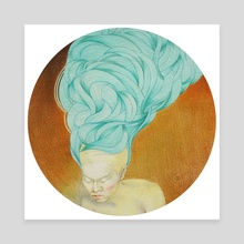 Winding VII - Canvas by Adela Li