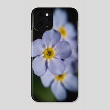 Forget-Me-Nots II - Phone Case by Ashley Gedz
