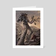 Giant of Mountains - Art Card by Julien Séror