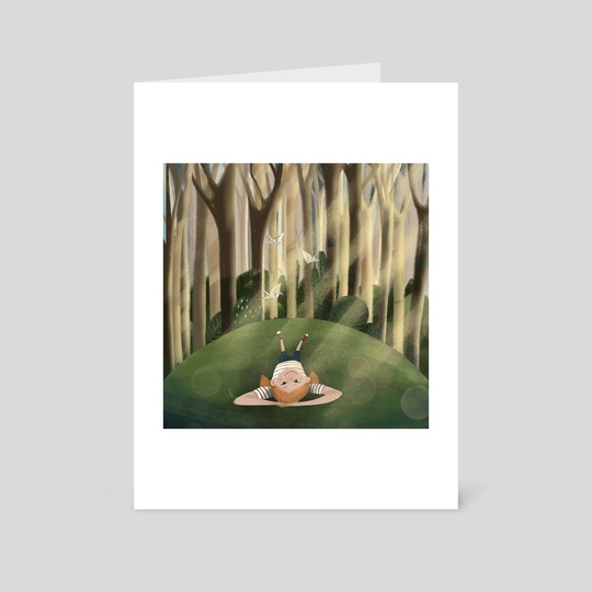 Into the woods by Mirella Illustrates