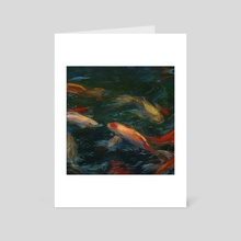 Pond - Art Card by Danica Jokic