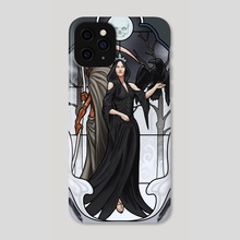 The Prayers of Ravens - Phone Case by Claudio Pozas