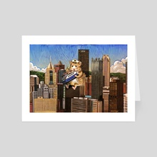 Pittsburgh Hamsters - Art Card by Dan Blaushild