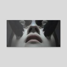 Feather - Acrylic by Yuri Shwedoff
